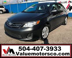 toyota corolla s special edition 2013 2013 toyota corolla s special edition 4dr sedan in marrero la