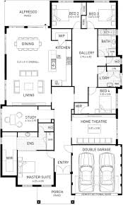 design floorplan the new hampton four bed hampton style home design plunkett homes