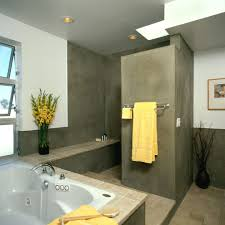 milestone cement shower bathroom rustic with log house traditional
