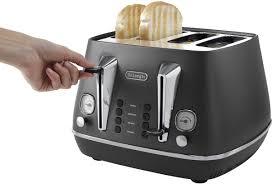 Deloghi Toaster New Delonghi Cti4003bk Distinta 4 Slice Toaster Ebay