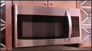 Microwave Under Cabinet Bracket Over The Range Microwave Replacement Youtube