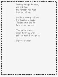 handprint reindeer ornaments and poem free printable school