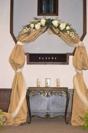 Wedding Arches Decorated With Burlap 67 Best Arbours Images On Pinterest Marriage Wedding And
