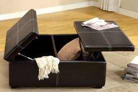 magnificent upholstered storage ottoman coffee table with coffee