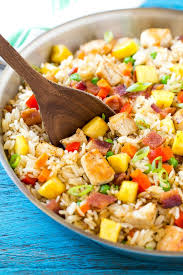 Easy Main Dish - pineapple fried rice dinner at the zoo
