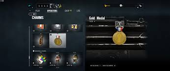 new charm after completing the new uplay challenge gold medal