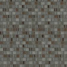 Geometric Fabrics Upholstery Blue And Brown Geometric Boxes Contract Grade Upholstery Fabric By