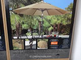 Sunbrella Umbrella Sale Clearance by Costco Patio Umbrella 499 Home Outdoor Decoration