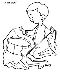 drum coloring page kids coloring