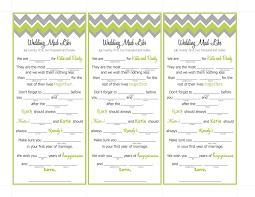 Wedding Mad Lib Template 6 Best Images Of Wedding Mad Libs Wedding Mad Libs Printable