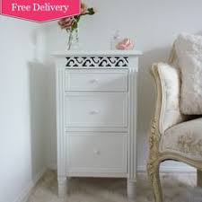 Shabby Chic White Bedroom Furniture Large Antique White 4 Drawer Chest Beau Decor Less Shabby More