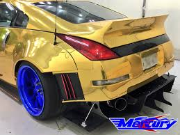 nissan 350z body kits mercury z project gt3 full aero body kit mercury z project