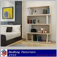 2017 mdf modern design book rack house shape shelf book shelves