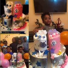 bovi u0027s beautiful wife gifts joint birthday cake to her hubby and