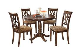 4 Seat Dining Table And Chairs Leahlyn 5 Piece Dining Room Ashley Furniture Homestore