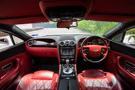 bentley red bentley continental gt 6 0 w12 7s auto