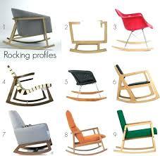 Rocking Chair Nursery Modern Smartness Modern Baby Rocking Chair Nursery Monplancul Info