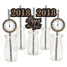 Power And Light New Years Eve Amazon Com New Year U0027s Eve Gold Paper Straw Decor 2018 New