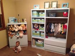 Closet Organizers For Baby Room Fancy Nursery Closet Storage Roselawnlutheran