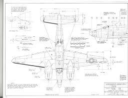 pv plan lockheed pv 1 plans aerofred free model airplane