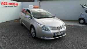 ace family jeep used toyota avensis 2012 for sale motors co uk