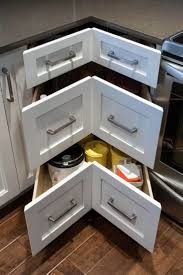 Kitchen Cabinet Drawer Design Best 25 Corner Cabinet Solutions Ideas On Pinterest Kitchen
