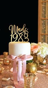 40th birthday delivery 40th birthday cake toppers cake ideas