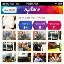 hollywood backed social video sharing app vyclone launched video