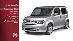 2015 nissan cube 2012 nissan cube fluid check points youtube