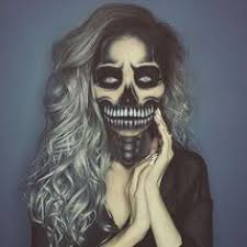 Awesome Scary Halloween Costumes Halloween Scary Creepy Makeup Sfx Face Paint Ideas