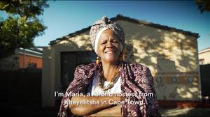 meet maria an airbnb host from khayelitsha township in the