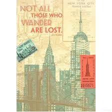 photo albums nyc nyc not all those who wander are lost 6x8 journal by eccolo the