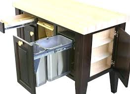 kitchen island with garbage bin kitchen islands with trash bins kitchen island kitchen island cart