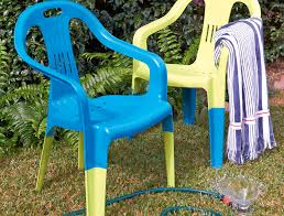 Paint For Outdoor Plastic Furniture by How To Spray Paint Plastic Chairs Australian Handyman Magazine