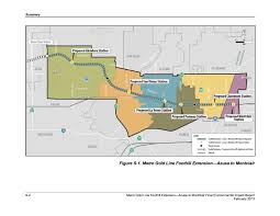 azusa light and water foothill extension construction authority approves route for gold