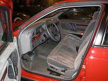 1996 Ford Taurus Interior Ford Taurus First Generation Wikipedia