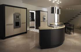 curved modern kitchens handmade bespoke kitchens by broadway