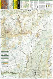 Escalante Utah Map by Paria Canyon Kanab Vermillion Cliffs National Monument Grand