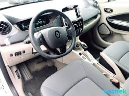 renault zoe electric 9 renault zoe white interior dashboard steering wheel electric