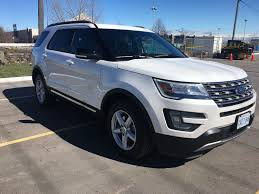 Ford Explorer White - used 2017 ford explorer 4 door sport utility in toronto on b41920