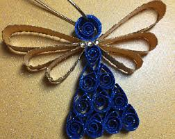 quilled ornament etsy