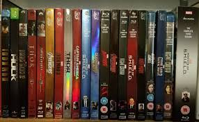 Blu Ray Shelves by Complete Us Mcu Bluray Collection For You Completists Marvelstudios
