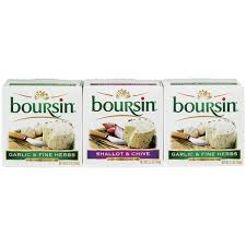 boursin cuisine boursin garlic herbs shallot chive 5 2 oz boxes gournay