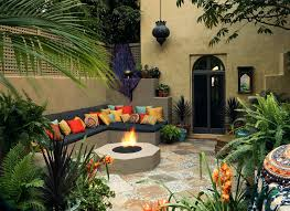 Mediterranean Backyard Landscaping Ideas Mediterranean Backyard Designs Large And Beautiful Photos Photo