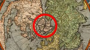 Old World Map Flat Earth U0027s Hidden Arctic Land Proof In Old World Maps Youtube