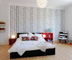 interesting bedroom wallpaper design ideas for small