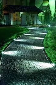 Landscape Path Lights Low Profile Landscape Lights Low Voltage Outdoor Path Lighting
