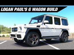 build mercedes logan paul s mercedes g wagon build forza horizon 3