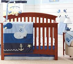 Nautical Baby Crib Bedding Sets Brody 4 Crib Bedding Set