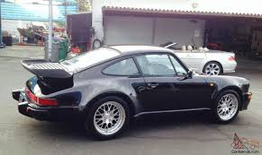 porsche 930 turbo for sale porsche 930 turbo 911 black on black coupe 5 speed row
